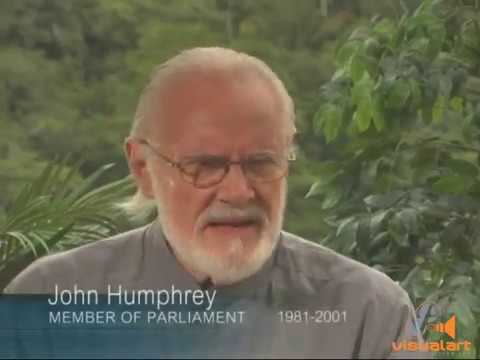 "John Humphrey ""Political Architect""  - Parliament Channel - VA History Series  (2010)"