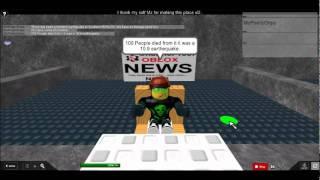 ROBLOX News Channel 1337. (EARTHQUAKE)