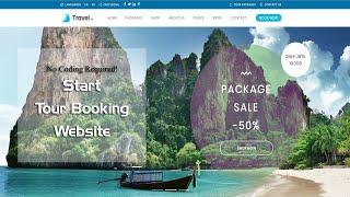 Start a Travel & Tour Booking Website in WordPress - Love Travel WP Theme Customization Tutorial