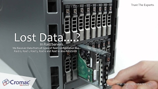 Data Recovery Services in Bengaluru India - By Cromac Data Recovery