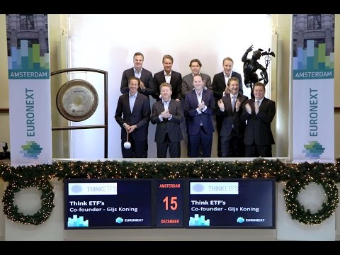 Think ETF's celebrates fifth anniversary at Euronext Amsterdam