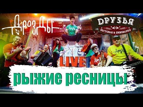 Дрозды-Рыжие ресницы (LIVE) Ресторан Друзья