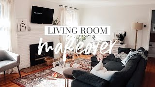 room makeover on a budget