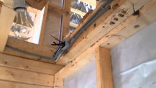 119-27 - Электромонтажные работы(Поэтапный видеоотчет хода строительства объекта №119. Проект