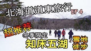 【北海道道東旅行Vlog】EP4 知床五湖雪地徒步有什麼玩?超推薦的冬季限定就是了!(2019)