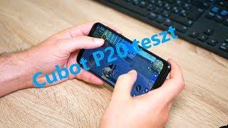 #CubotP20 mobiltelefon teszt - Az olcsó notch-os!