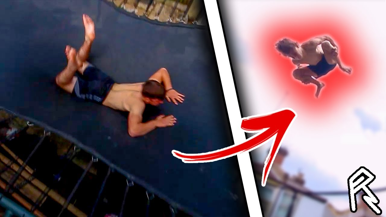 He Attempted His DREAM Trampoline Trick...