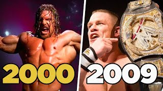 Ranking Who Was Really The Man In Wrestling Every Year (Part 2) 2000-2009