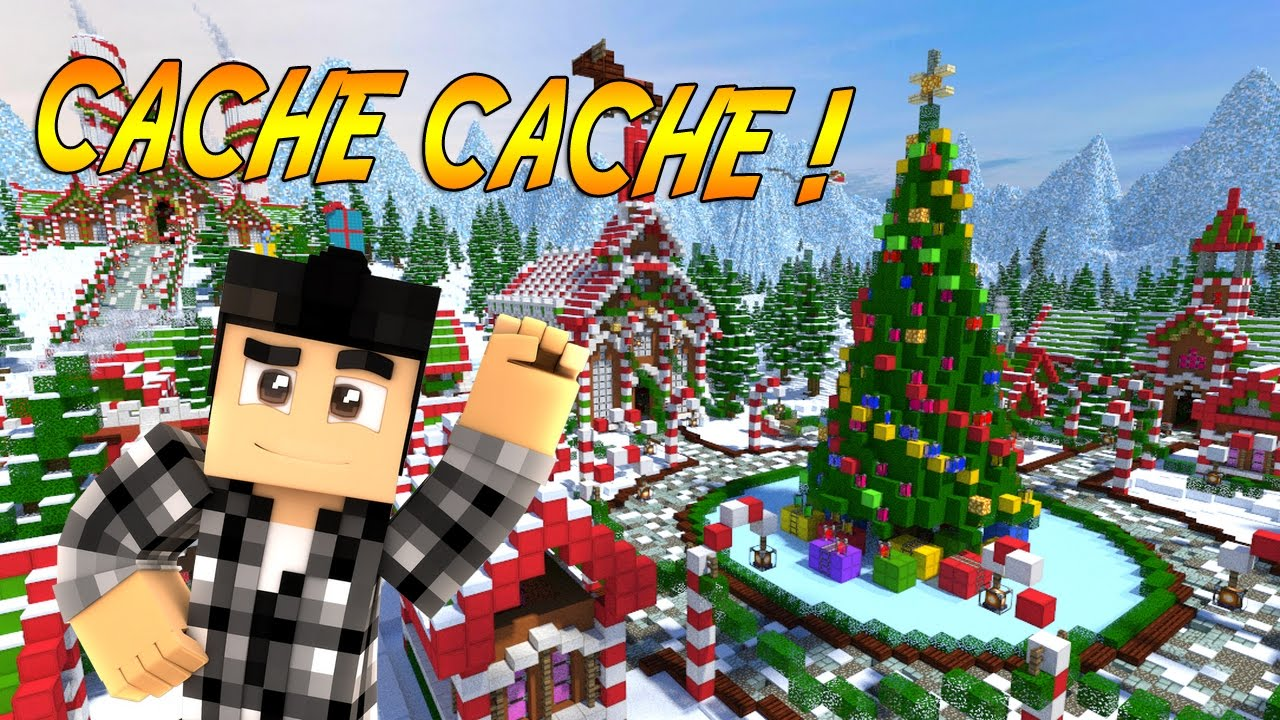 minecraft noel CACHE CACHE MINECRAFT SPÉCIAL NOËL !   Hide and Seek   Minecraft  minecraft noel