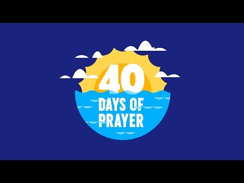 40 Days of Prayer | Early Childhood Lesson 4 from YouTube · Duration:  16 minutes 8 seconds
