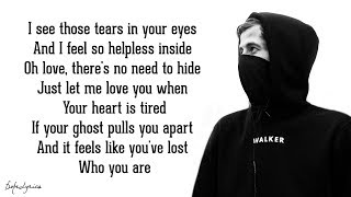 Скачать Tired Alan Walker Ft Gavin James Lyrics