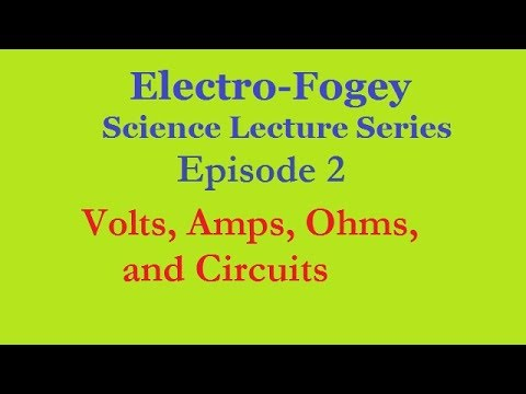 Basic Electrical Engineering:  Volts, Amps, Ohms, and Circui