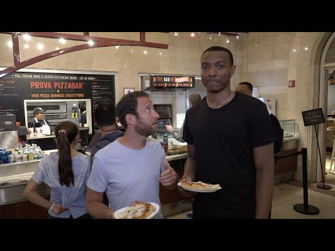 Barstool Pizza Review - Prova Pizzabar (Grand Central Station) With Special Guest Wendell Carter Jr