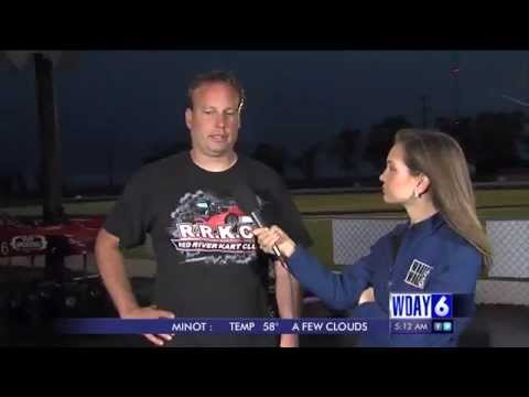 Red River Kart Club - LIVE on WDAY's First News (1 of 4)
