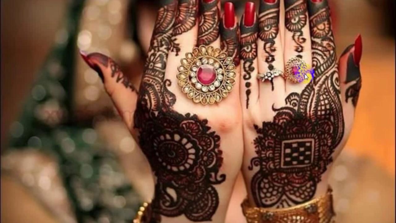 Mehndi Designs Punjabi : Indian punjabi mehndi design youtube
