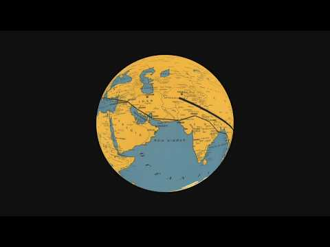 How to Animate Travel Routes on a 3D Rotating Globe with Motion 5