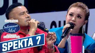 Download lagu Pecah!! Rossa dan Judika Nyanyiin Ost Ikatan Cinta  - Spekta Show TOP 7 - Indonesian Idol 2021