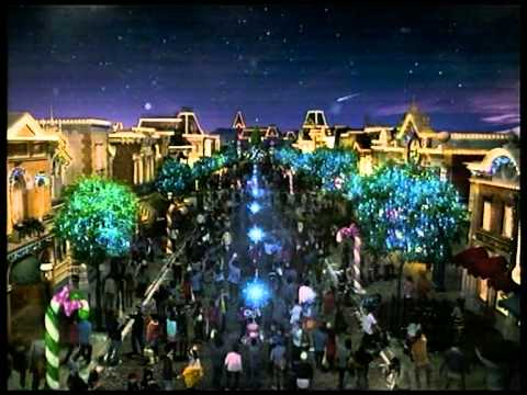 Disneyland Sparkling Christmas Storybook Fantasy 2010 CM