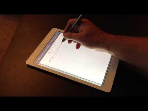 Adonit Jot Script- Palm Rejection Tests