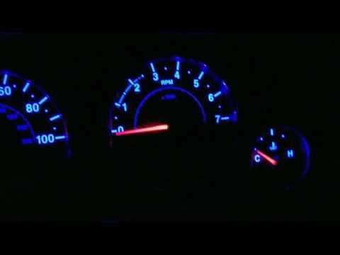 2015 Jeep Jk Rubicon Blue Dash Lights Upgrade
