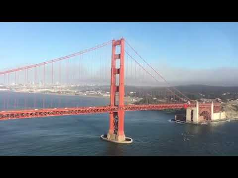 Richard Pusey - The Golden Gate Bridge San Fransisco by Helicopter