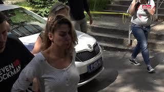 Snimak Nadežde dok ulazi u istu policijsku stanicu u kojoj se nalazi Toma kako bi dala iskaz!