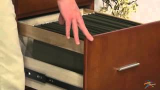 Valona Custom Four Drawer Filing Cabinet - Oak - Product Review Video