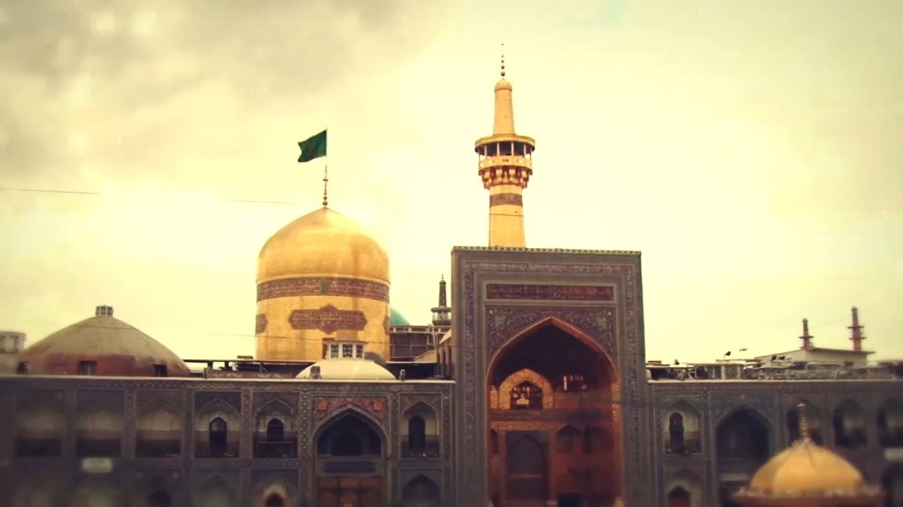 Maula Ali Shrine Wallpaper: Golden Dome- English Song For Imam Reza (AS)