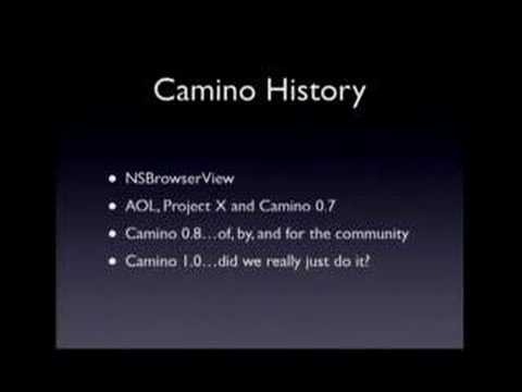 Mike Pinkerton - History of Camino (1 of 2)