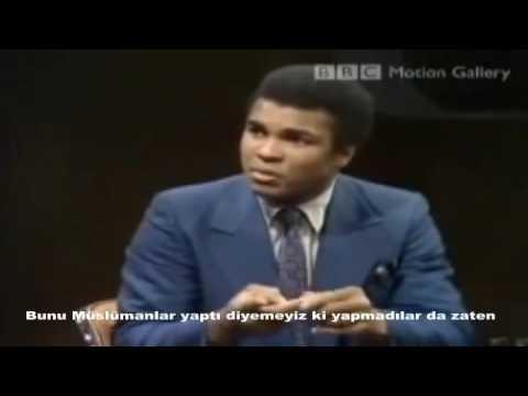 CNN Muhabirine Muhammed Ali'nin verdiği efsane cevap...