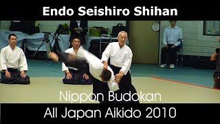 48th All Japan Aikido - Endo Seishiro Shihan
