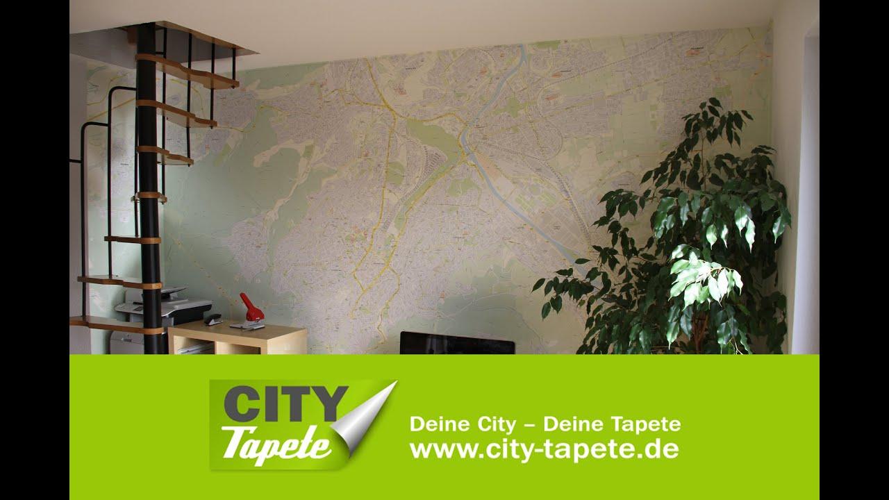 City-Tapete - Die Stadtplan-Tapete von Stuttgart, Berlin, Hamburg ...