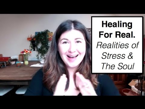 Healing For Real. Realities of Stress & The Soul  || IRENE LYON || 180 degree paradigm shift