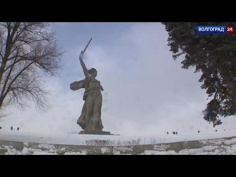 Вячеслав Володин на Мамаевом кургане почтил память защитников Сталинграда.