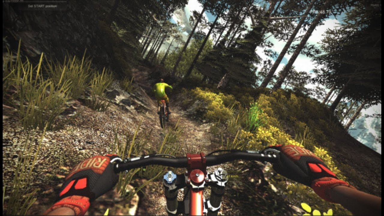 mtb freeride downhill bicycle