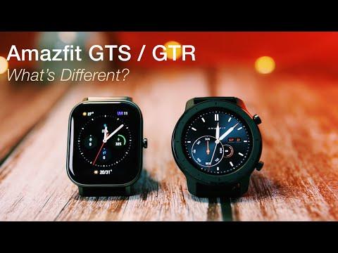 Amazfit GTS Vs Amazfit GTR Comparison: What's Different?