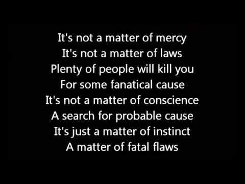 Rush Lock & Key Lyrics