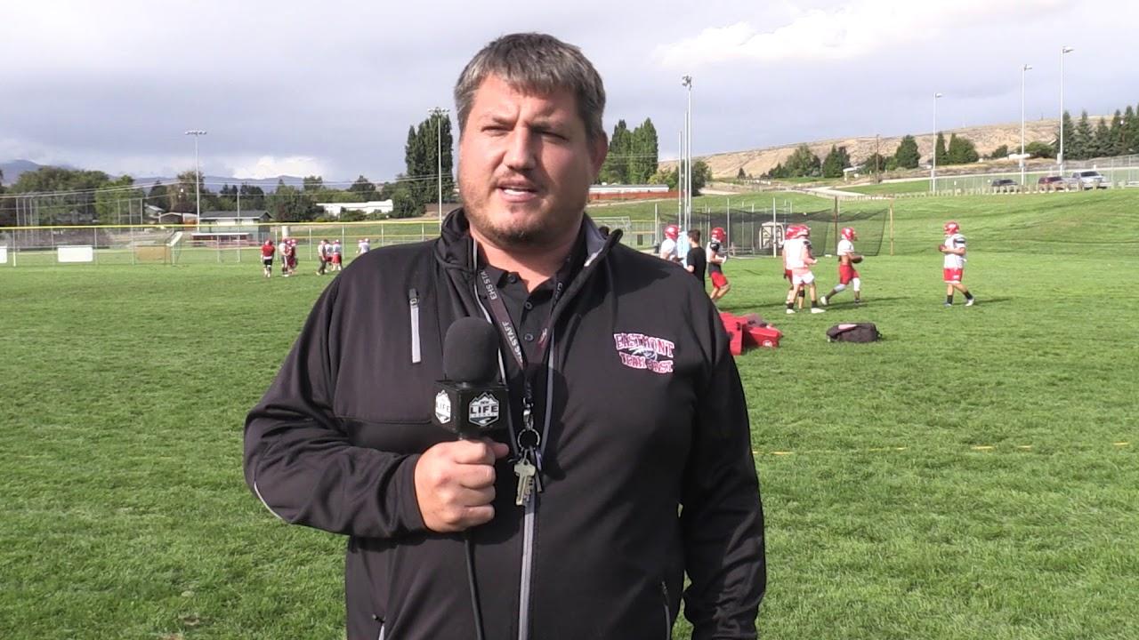 Eastmont Coach Michael Don on Ellensburg 2019-09-20
