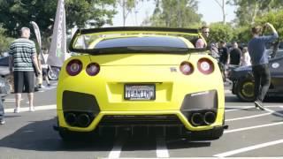 Nissan GT-R R35   Armytrix Système Echappement VALVETRONIC   moteurs sons & bruit!
