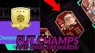 FUT CHAMPS AND DIVISION 1 RIVALS REWARDS!! - FIFA 21 ULTIMATE TEAM!