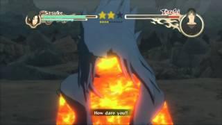 Naruto Ultimate Ninja Storm 2 Sasuke Vs Itachi S-Rank HD (English)