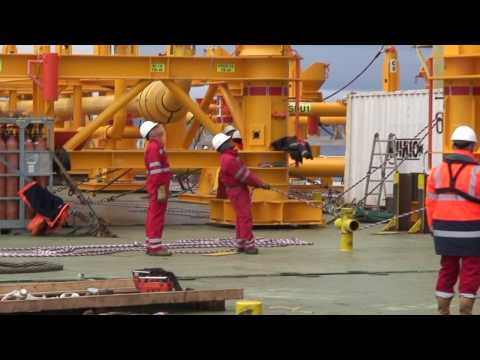 Jumbo Offshore: The North Amethyst Project - subsea template installation