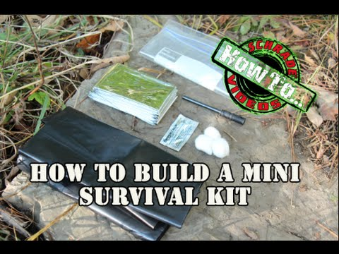 Diy mini survival kit for your sheath pocket or pouch youtube solutioingenieria Images