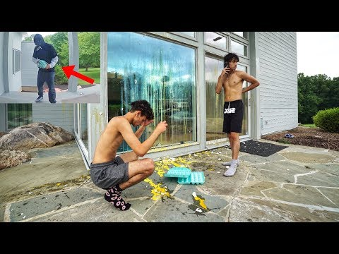 We cant believe someone did this to our house.. (not a prank)