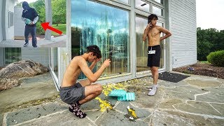 We can't believe someone did this to our house.. (not a prank)