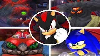 Shadow the Hedgehog - All Bosses + Cutscenes (No Damage)