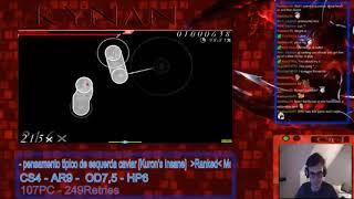 osu! with Kynan 2 : Mutsuhiko Izumi - Green Green Dance [Ultimate] DT Attempt (A)