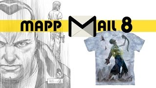 MAPP Mail #08 Walking Dead Artist Proof Zombie Awesomeness [P.O. Box Goodies]