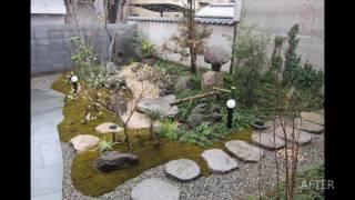 [香川・善通寺]和風庭園作り・アプローチ周りのリフォーム