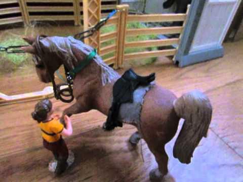 Le haras du cheval noir (Schleich) ! - YouTube